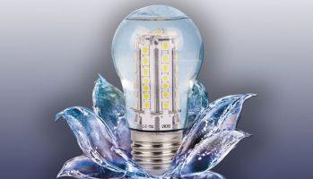 danger et ampoule led