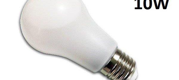 Ampoule led E27 liquide 10w SMD blanc chaud 3000K 230v AC