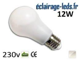 Ampoule led E27 liquide 12w SMD blanc naturel 4500K 230v AC