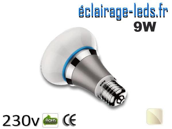 ampoule led e27 queen 9w blanc naturel