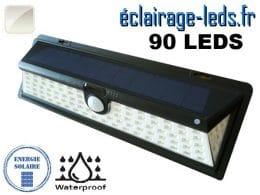 Applique solaire 90 LED extérieur