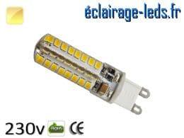 Ampoule LED G9 3.5w blanc chaud 230v