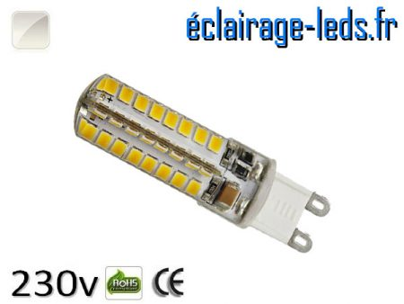 Ampoule LED G9 3.5w blanc naturel 230v