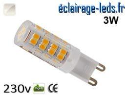 Ampoule LED G9 3w blanc naturel 230v