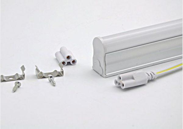 Tube LED T5 9w blanc chaud 900 Lm 230v AC 1