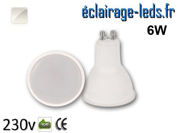 Ampoule LED 6w blanc naturel 230v