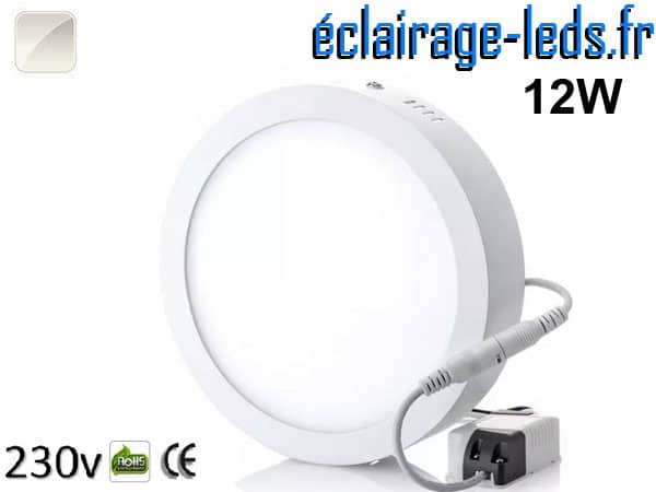 Spot LED 12w blanc naturel 230v