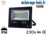 Projecteur LED extérieur 100w IP66 Blanc 230V
