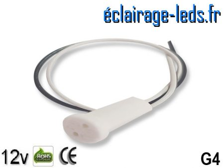 Douille LED G4 12v