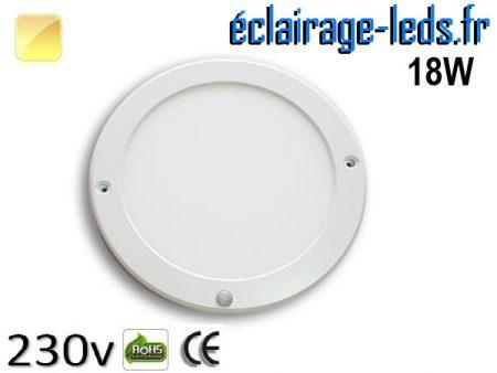 Spot LED Blanc chaud détecteur de présence
