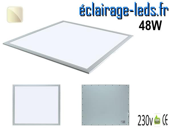 dalle LED 48W Blanc naturel 230v