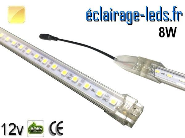 Bandeau de départ à LED 50cm rigide 8W Blanc chaud 12V