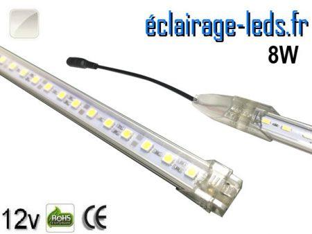 Bandeau LED de départ rigide de 50cm 8W couleur Blanc naturel 12V