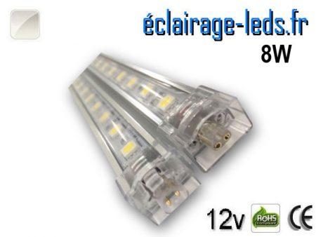 Bandeau LED intermédiaire 50cm rigide de 8W avec une couleur Blanc naturel 12V