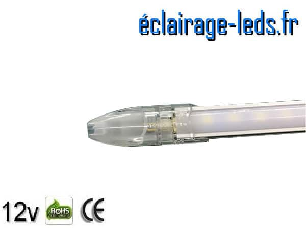 Protection bandeau LED intermédiaire 50cm rigide 8W 12V