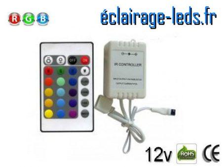 Variateur d'intensité bandeau LED RGB