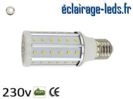 Ampoule led E27 10w SMD 2835 blanc naturel 4200K 230v AC ref A155-2