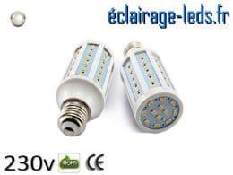 Ampoule led E27 10w SMD 5730 blanc naturel 4200K 230v AC ref A152-2
