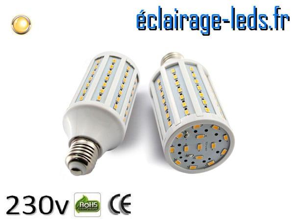 Ampoule led E27 12w SMD 5730 blanc chaud 3000K 230v AC ref A153-1