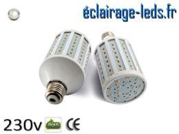 Ampoule led E27 15w SMD 5730 blanc naturel 4200K 230v AC ref A154-2