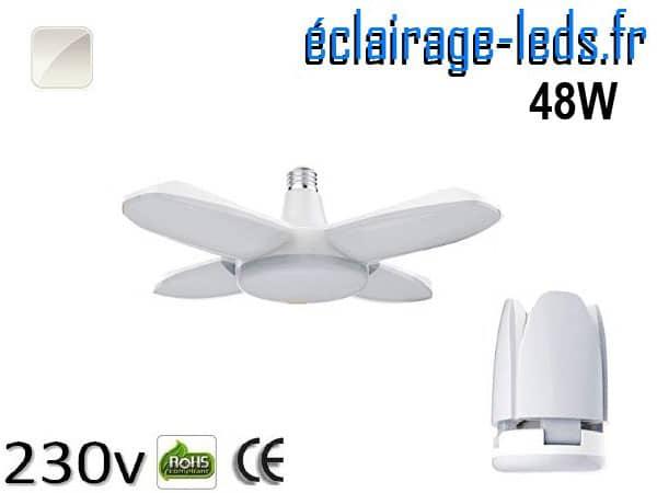 Ampoule led E27 plafonnier 48w 230v