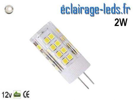Ampoule led G4 5w SMD 2835 blanc 6000K 12v