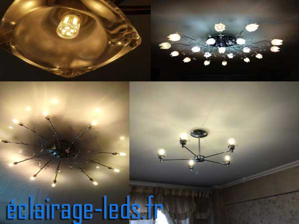 Ampoule led G4 2.5w SMD 2835 blanc chaud