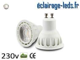 Ampoule led GU10 5w COB blanc naturel 4000K