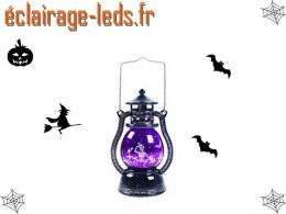 Lanterne décoration Halloween à LED