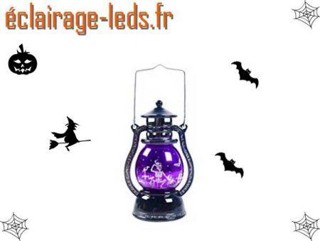 Lanterne décoration Halloween à LED