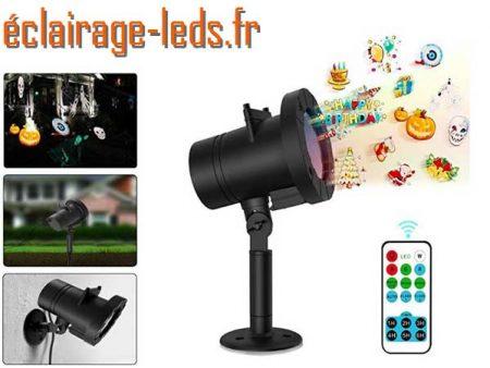 Projecteur à LED d'extérieur ambiance Noël