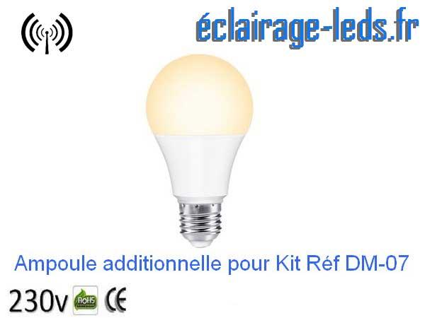 Ampoule led E27 10w additionnelle pour référence DM-07