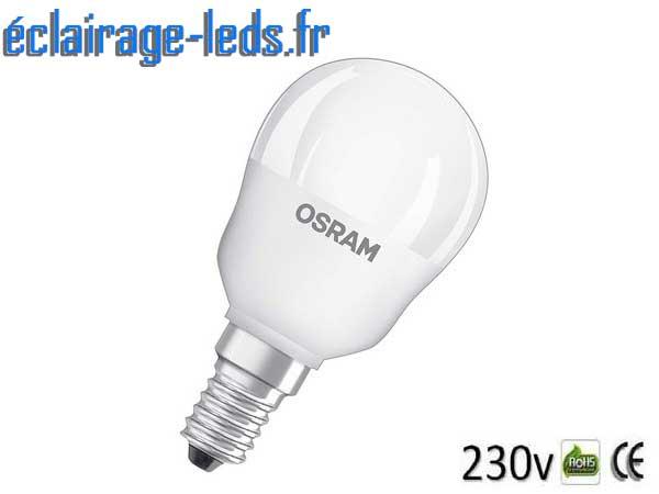 Ampoule LED E14 Blanc Chaud & Couleurs Télécommandée 4,3W 2