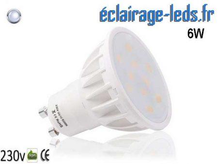 Ampoule led GU10 6W Blanc Froid 120°