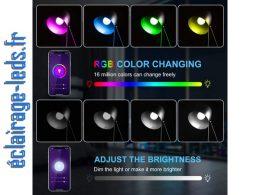 Ampoule LED E14 Smart Wifi dimmable 9w Blanc & Couleurs 230v