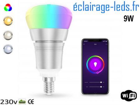 Ampoule LED E14 Smart Wifi