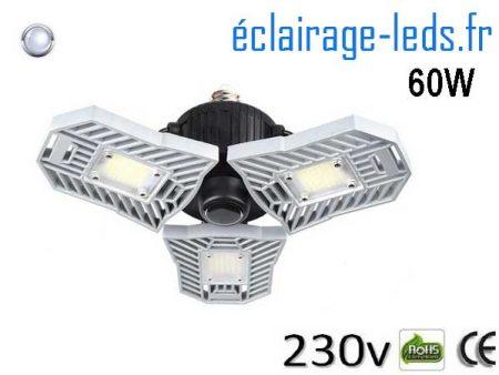 Ampoule led E27 plafonnier 60w 230v AC