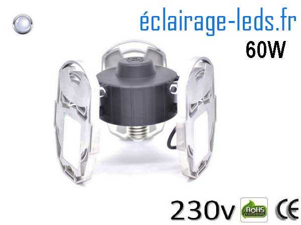 Ampoule led E27 plafonnier 60w 6500K 230v