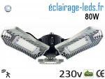 Ampoule led E27 plafonnier 80w avec detecteur 230v