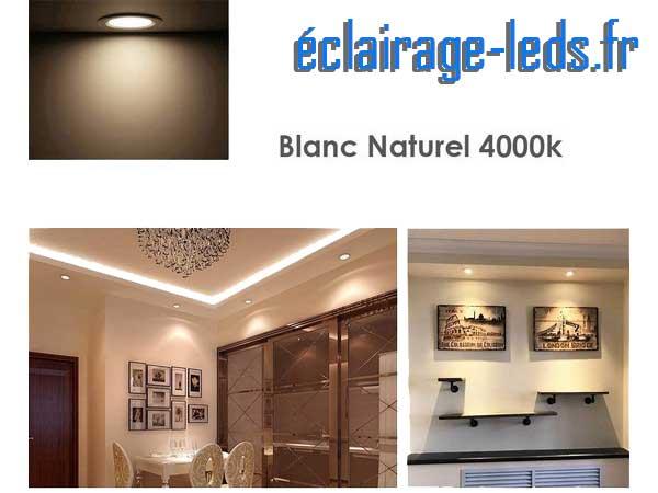 Ampoule led GU10 7W Blanc Naturel 4000K Équiv 60W
