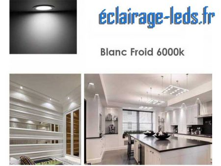 Ampoule led GU10 7W Blanc Froid 6000K Équiv 60W