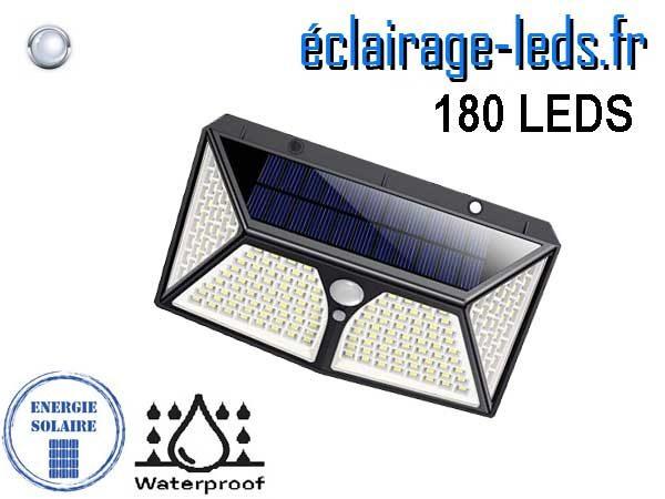 Applique LEDS solaire 180 LED extérieur