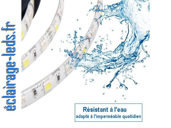 Bandeau LED RGB 2x5m étanche éclairage d'ambiance