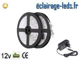 Kit Bandeau LED de 10m avec un couleur Blanc chaud