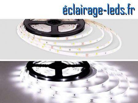 Kit Bandeau LED 15m Blanc froid IP65 12v DC 1