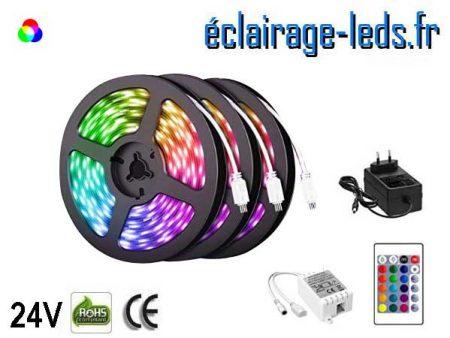 Kit bandeau LED 15m RGB SMD5050 24V