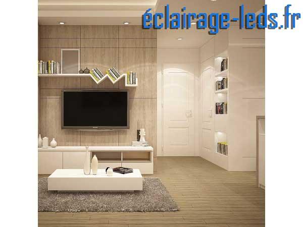 Lot de 5 ampoules led GU10 5W Blanc Chaud 3000K Équiv 45W 40° 230v
