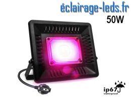 Projecteur LEProjecteur LED Horticole 50w IP67D Horticole 50w plein spectre IP67