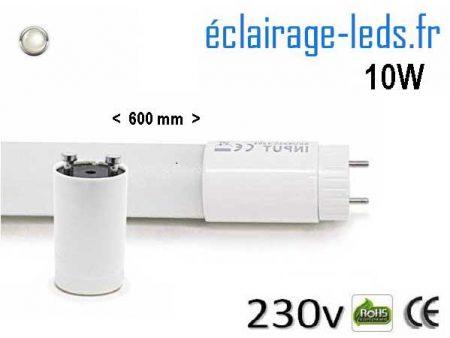 Tube LED T8 60cm 10w 4500 Kelvin