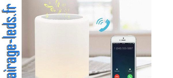 Veilleuse LED Bluetooth multi-couleur